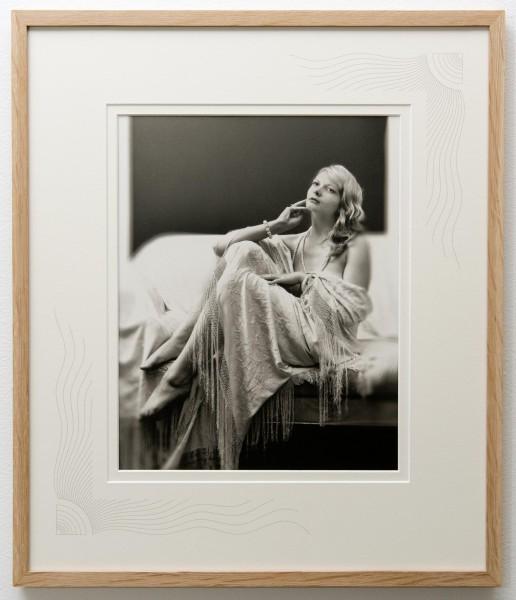 Art Deco  platinum print by Ian Swann