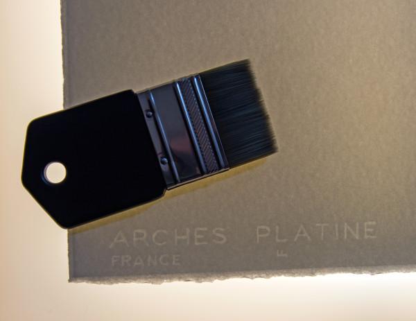 arches platine rag paper Ian Swann
